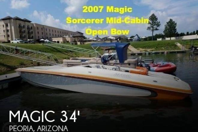 2007 Magic Sorcerer Mid Cabin Open Bow - For Sale at Peoria, AZ 85345 - ID 128968