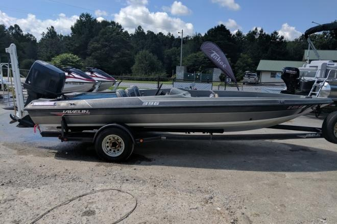 1989 Javelin 395 Bass Boat - For Sale at Blairsville, GA 30512 - ID 129517