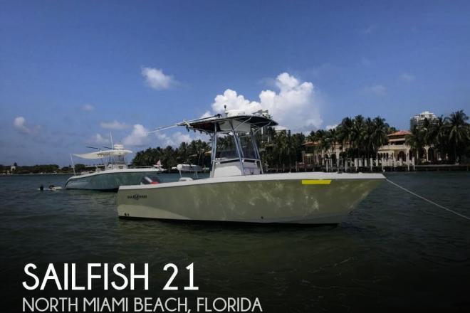 2004 Sailfish 218 CC - For Sale at North Miami Beach, FL 33160 - ID 129623