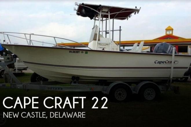2004 Cape Craft 22 - For Sale at New Castle, DE 19720 - ID 129757