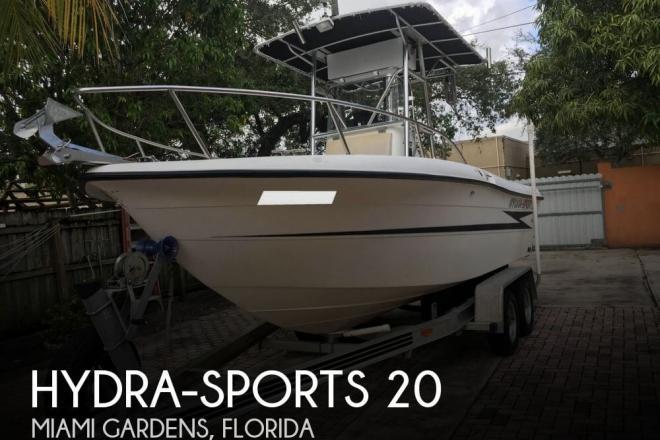 1993 Hydra Sports 2000 CC - For Sale at Miami Gardens, FL 33056 - ID 129467