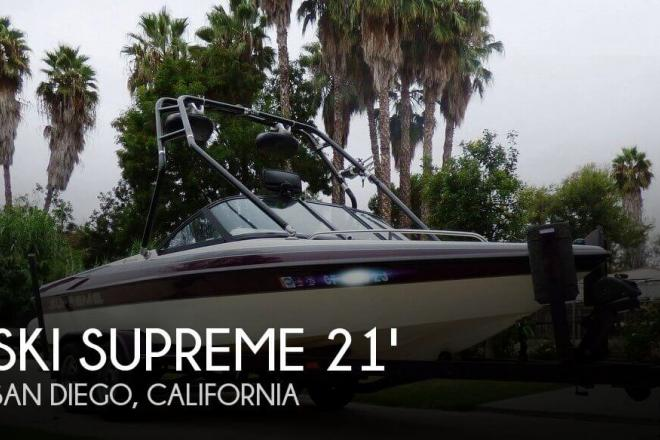 2002 Ski Supreme 21 Pro Am - For Sale at Poway, CA 92064 - ID 129805
