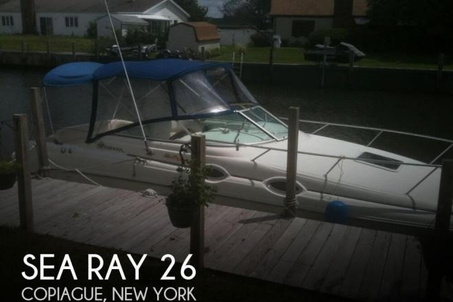 1999 Sea Ray 260 Sundancer - For Sale at Copiague, NY 11726 - ID 129870