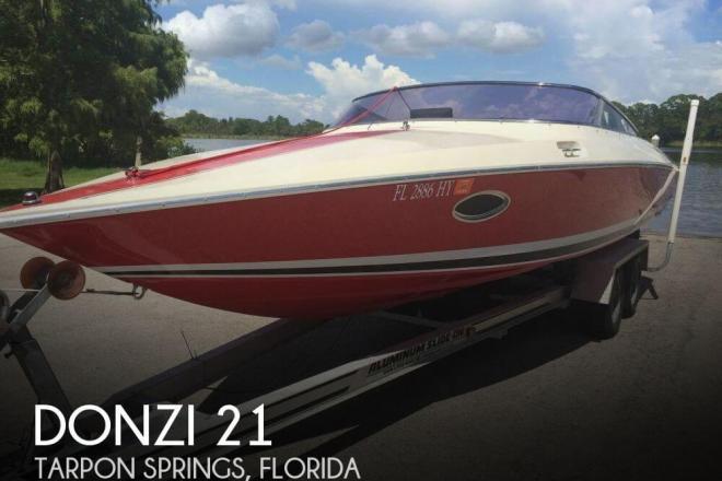 1988 Donzi Z21 - For Sale at Tarpon Springs, FL 34688 - ID 129987