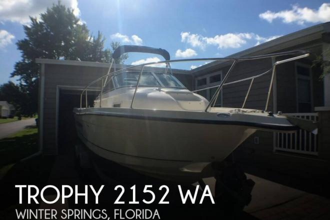 2009 Trophy 2152 WA - For Sale at Winter Springs, FL 32708 - ID 129088