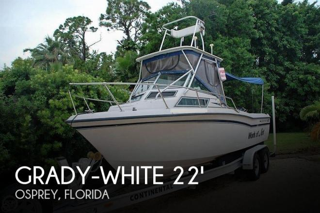 1990 Grady White Seafarer 226 - For Sale at Osprey, FL 34229 - ID 129530