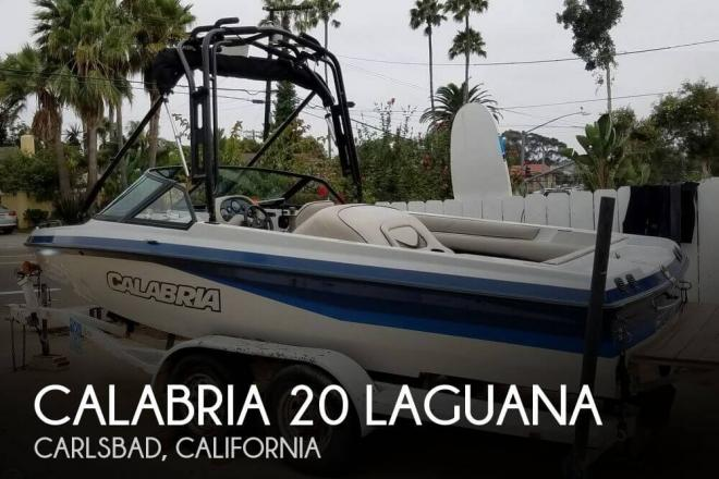 2001 Calabria 20 Laguana - For Sale at Carlsbad, CA 92008 - ID 129933