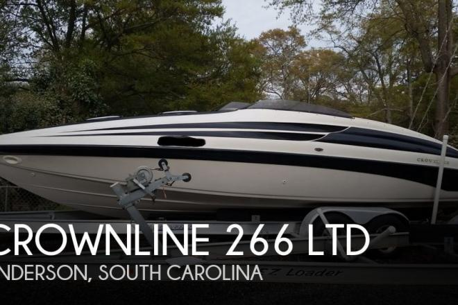 1998 Crownline 266 LTD - For Sale at Anderson, SC 29621 - ID 67525