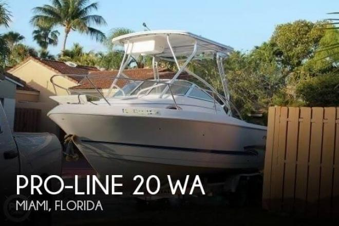2002 Pro Line 20 WA - For Sale at Miami, FL 33177 - ID 129384