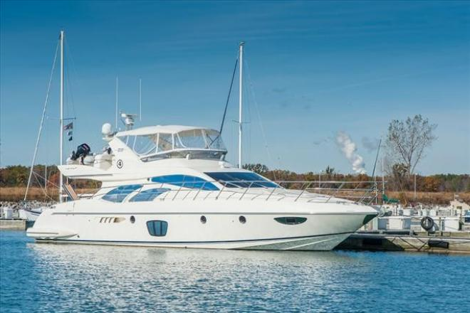 2007 Azimut 62 FLYBRIDGE - For Sale at Winthrop Harbor, IL 60096 - ID 130186