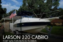 2006 Larson 220 Cabrio
