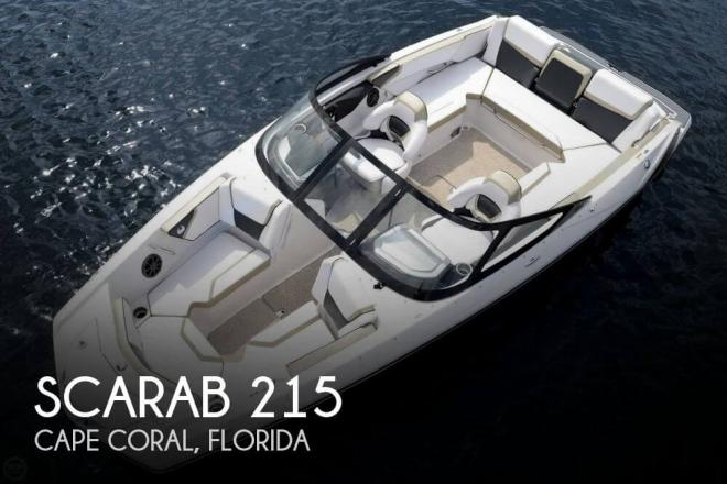 2014 Scarab 215 - For Sale at Cape Coral, FL 33990 - ID 105103