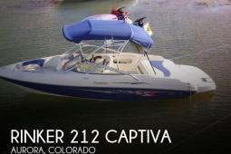 2005 Rinker 212 Captiva