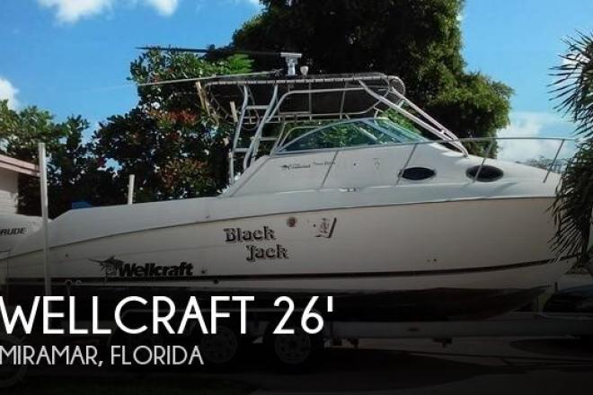 2000 Wellcraft 270 Coastal - For Sale at Miramar, FL 33023 - ID 109563