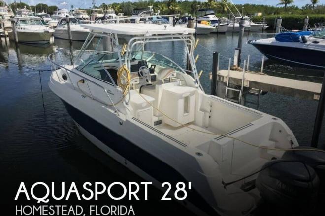 2004 Aquasport 275 Explorer - For Sale at Homestead, FL 33090 - ID 127784