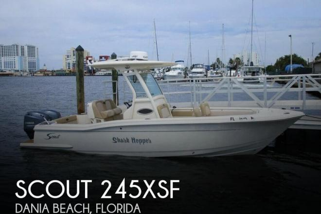 2014 Scout 245XSF - For Sale at Dania Beach, FL 33004 - ID 111326