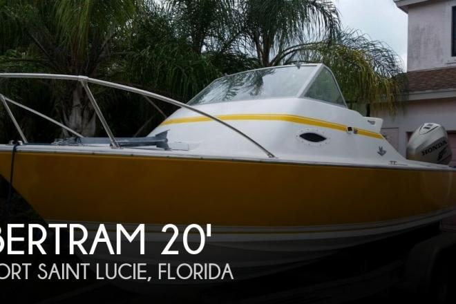1968 Bertram 20 Bahia Mar - For Sale at Port Saint Lucie, FL 34984 - ID 130060
