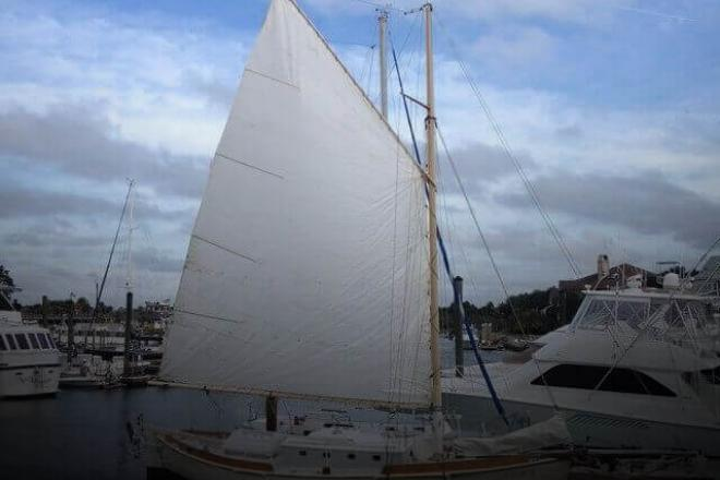 1996 Custom Built Gaff Rigged Sloop - For Sale at Isle of Palms, SC 29451 - ID 130182