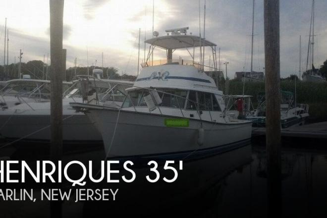 1984 Henriques 35 Maine Coaster Sportfisherman - For Sale at Parlin, NJ 8859 - ID 46116