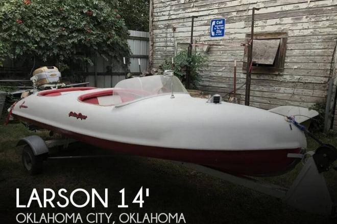 "1956 Larson ""Falls Flyer"" 14 - For Sale at Oklahoma City, OK 73165 - ID 130736"