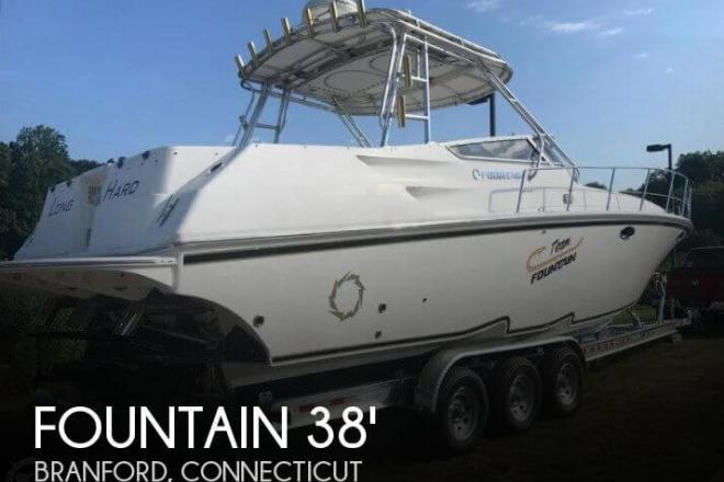 2004 Fountain 38 Sportfish Cruiser - For Sale at Branford, CT 6405 - ID 130117
