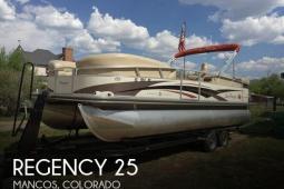 2008 Sun Tracker Party Barge 25 Regency