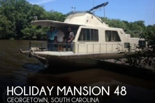 1993 Holiday Mansion 490 Coastal Cruiser - For Sale at Georgetown, SC 29440 - ID 130959
