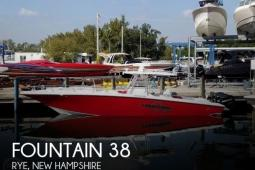 2009 Fountain 38TE