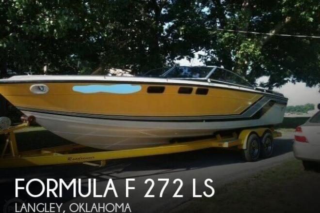 1986 Formula F 272 LS - For Sale at Langley, OK 74350 - ID 129629