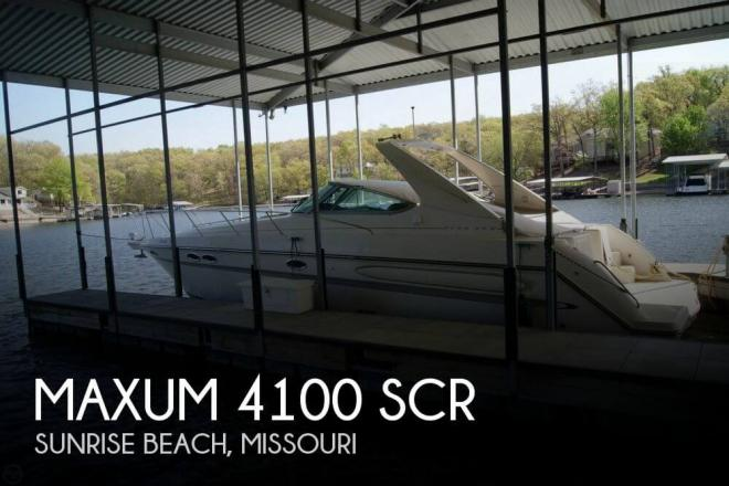 1998 Maxum 4100 SCR - For Sale at Sunrise Beach, MO 65079 - ID 67750
