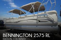 2007 Bennington 2575 RL