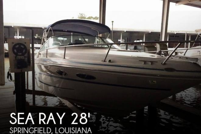 1999 Sea Ray 28 Sun Sport 280 - For Sale at Springfield, LA 70462 - ID 101957
