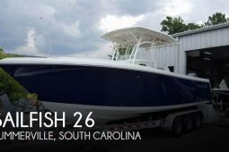 2016 Sailfish 270 CC