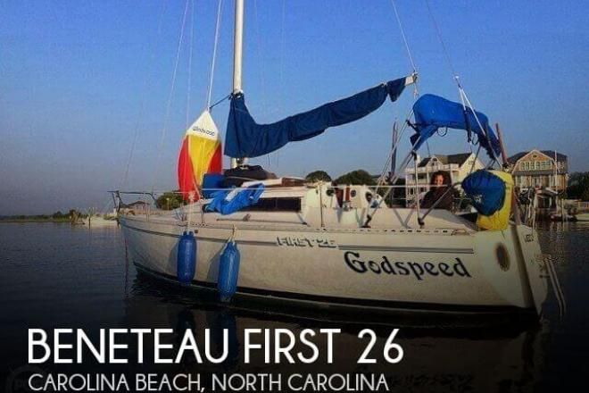 1986 Beneteau First 26 - For Sale at Carolina Beach, NC 28428 - ID 70536
