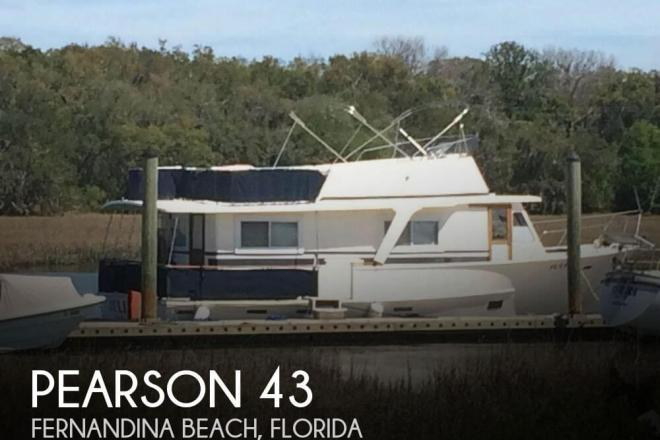 1985 Pearson 43 Motoryacht - For Sale at Fernandina Beach, FL 32034 - ID 131545