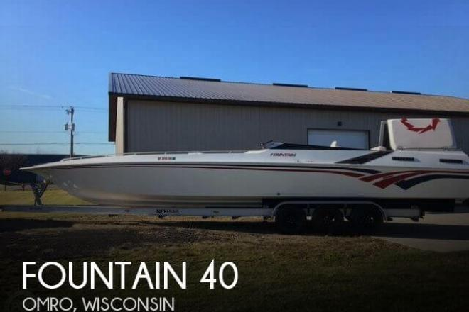 1986 Fountain 40 - For Sale at Omro, WI 54963 - ID 131694