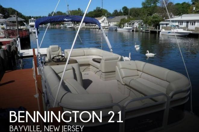 2014 Bennington 21 SLX - For Sale at Bayville, NJ 8721 - ID 131902