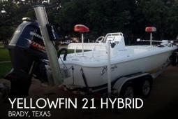 2017 Yellowfin 21 Hybrid