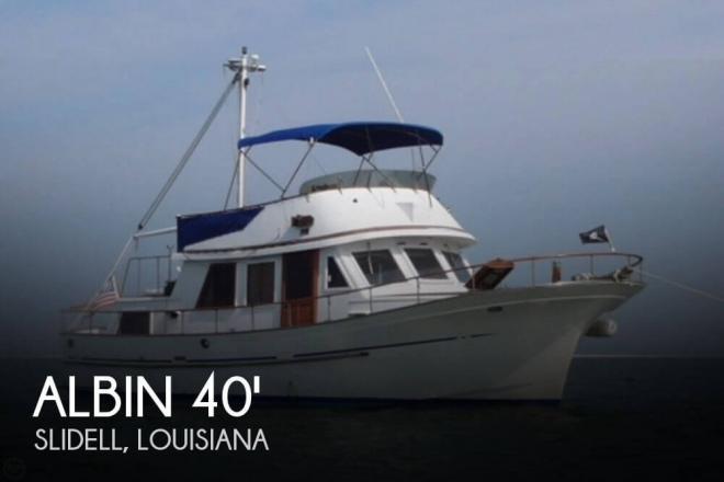 1983 Albin 40 Trawler Double Cabin Single Screw - For Sale at Slidell, LA 70458 - ID 110942