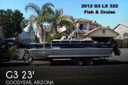 2012 G3 Suncatcher LX 322 Fish & Cruise