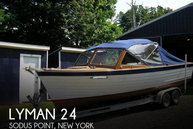 1966 Lyman 25' Sleeper - For Sale at Sodus Point, NY 14555 - ID 133160