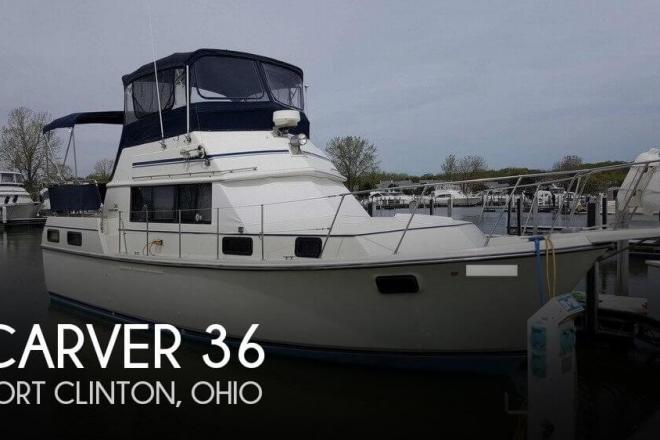 1984 Carver 36 - For Sale at Port Clinton, OH 43452 - ID 110096