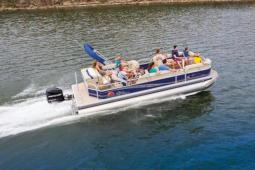 2018 Sun Tracker PARTY BARGE® 24 DLX XP3