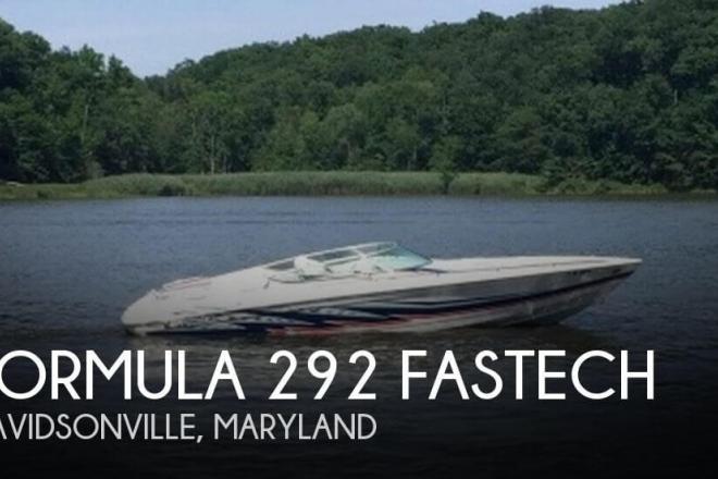 2002 Formula 292 Fastech - For Sale at Davidsonville, MD 21035 - ID 132558