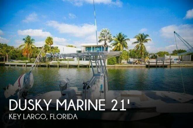 2012 Dusky Custom 217 RLD Bayshark - For Sale at Key Largo, FL 33037 - ID 94938