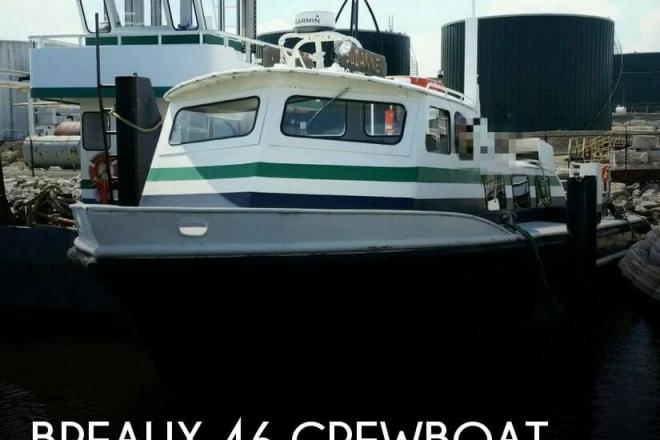 1974 Breaux 46 Crewboat - For Sale at Baltimore, MD 21201 - ID 79627