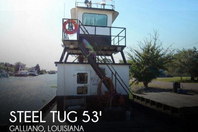 1974 Other 53 Tug Tow Support Vessel CN - For Sale at Galliano, LA 70354 - ID 132846