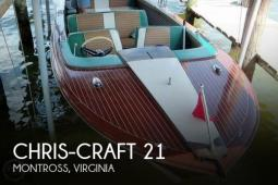 1961 Chris Craft Model 21