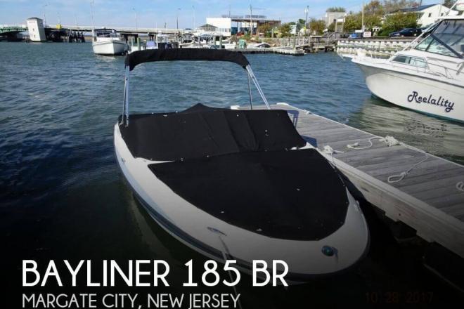 2013 Bayliner 185 BR - For Sale at Margate City, NJ 8402 - ID 133320