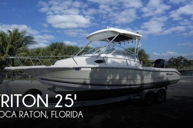 2006 Triton 2486 Walkaround - For Sale at Boca Raton, FL 33481 - ID 109823